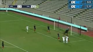 Download Apollon Limassol vs Stumbras Full Match Video