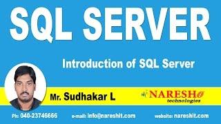 Download Introduction of SQL Server | SQL Server Tutorial Video