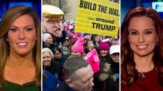 Download Roginsky, Boothe debate validity of women protesting Trump Video