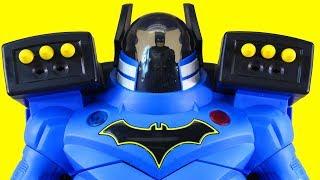 Download Imaginext Batbot Xtreme Robot And Batman Search For Power Rangers Megazord Video