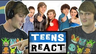 Download TheOdd1sOut Reacts to Teens React to TheOdd1sOut (Reaction) Video