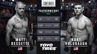 Download FREE FIGHT | Kurt Holobaugh Delivers Constant Pressure | DWTNCS Week 1 Contract Winner - Season 1 Video