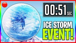 Download I Missed The Live ″ICE STORM″ Event in Fortnite... (ProHenis Reacts to Ice Ball Event) Video