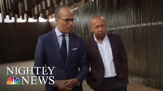 Download Bryan Stevenson, Lester Holt Revisit A Painful Past To Create A Better Future | NBC Nightly News Video