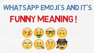 Download WhatsApp Emoji's and It's Funny Meaning !! Video