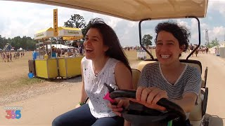 Download RIDING WITH BROAD CITY AT BONNAROO Video