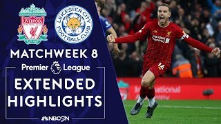 Download Liverpool v. Leicester City   PREMIER LEAGUE HIGHLIGHTS   10/5/19   NBC Sports Video