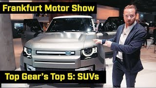 Download Top Gear's Top 5: SUVs from Frankfurt Video