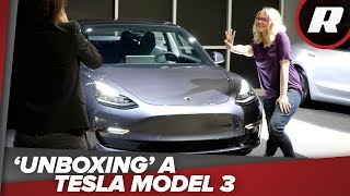Download 'Unboxing' my Tesla Model 3 - Ashley takes delivery of her new Model 3 Video