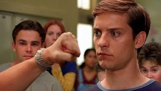 Download Peter Parker vs Flash - School Fight Scene - Spider-Man (2002) Movie CLIP HD Video