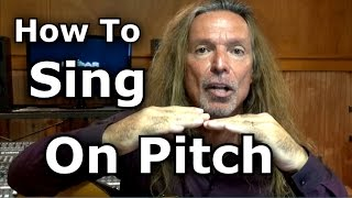 Download How To Sing On Pitch – How To Sing In Tune – Ken Tamplin Vocal Academy Video
