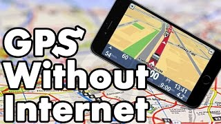 Download How To Use GPS Navigation Without Internet On iPhone iPad and iPod Touch Video