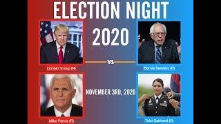 Download Election Night 2020 | Donald Trump vs Bernie Sanders Video