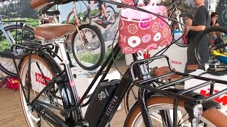 Download New Electra Electric Bikes: Townie Commute Go!, Loft Go! 8i, Townie Go! | Electric Bike Report Video