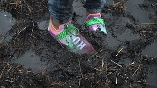 Download Jumping in mud with UNRELEASED adidas Human Race NMD Pharrell 'Holi Festival' - EXTREME CLEAN Video
