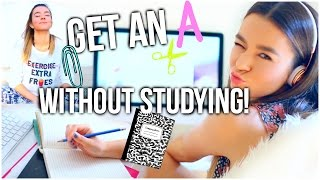 Download How To Get An A Without Studying! Finals Week Study Tips + Survival Guide! Video