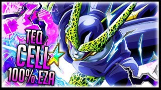 Download 100% TEQ CELL'S NEW EXTREME Z AWAKENING IS ONE OF THE BEST IN THE GAME! Dragon Ball Z Dokkan Battle Video