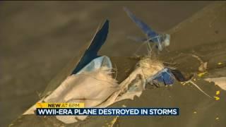 Download WWII-era plane destroyed in Prairie du Chien storms Video