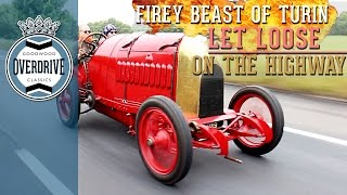 Download Firey Beast of Turin Let Loose on the Highway | Part One Video