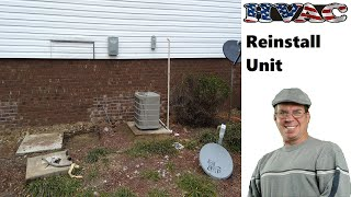 Download Reconnect Outdoor Unit After Home Has Been Lifted Video