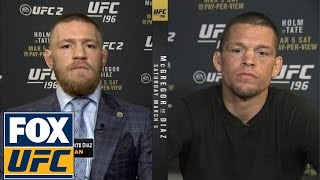 Download Conor McGregor and Nate Diaz join FOX Sports Live (3/3/16) Video