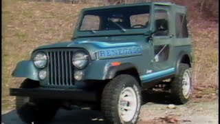 Download MotorWeek | Retro Review: '81 AMC Jeep CJ-7 Video