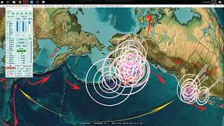 Download 2/19/2018 - West Coast California Volcanoes begin swarming - Major volcanism internationally Video