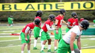 Download Oregon Ducks open spring football practice: Sights and sounds Video
