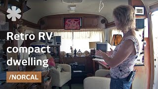 Download Airstream-inspired retro RV as affordable backyard tiny home Video