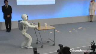 Download Honda's Asimo robot gets faster and smarter in human makeover Video
