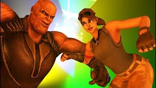 Download Fortnite *NEW* DISCO DANCE/EMOTES in real life! ft. THANOS - Fortnite 3D ANIMATION Video