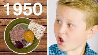 Download Barn testar svensk skolmat från 1900-talet Video