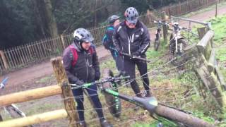 Download Fat Bike caught on an Electric Fence! Video