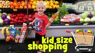 Download Kid Size Shopping with Real Money! Video