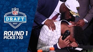 Download Picks 1-10: Multiple Trades, QB Surprises, & MORE! (Round 1) | 2017 NFL Draft | NFL Video