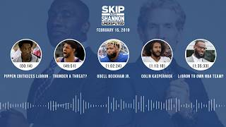 Download UNDISPUTED Audio Podcast (02.15.19) with Skip Bayless, Shannon Sharpe & Jenny Taft | UNDISPUTED Video