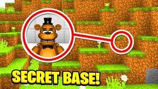 Download Minecraft : WE FOUND FREDDY FAZEBEARS SECRET BASE! (Ps3/Xbox360/PS4/XboxOne/PE/MCPE) Video