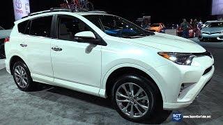 Download 2017 Toyota RAV4 Platinum - Exterior and Interior Walkaround- 2017 Detroit Auto Show Video