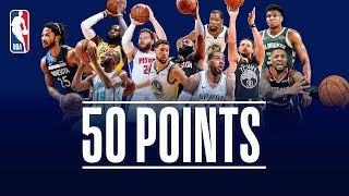 Download Every 50-Point Game So Far This NBA Season (Giannis, Harden, Lillard, LeBron, Curry, KD, and More!) Video