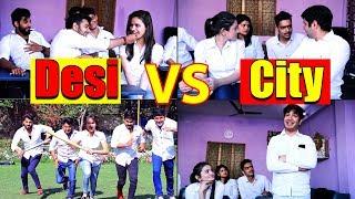 Download School Life Of Desi VS City    Virat Beniwal    Namra Qadir Video