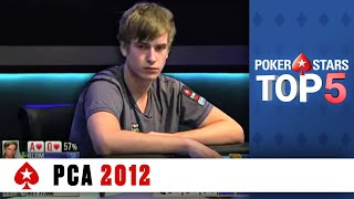 Download Top 5 Poker Moments - PCA 2012 | PokerStars Video
