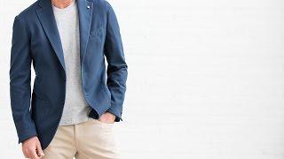 Download How to wear a t-shirt under a blazer Video