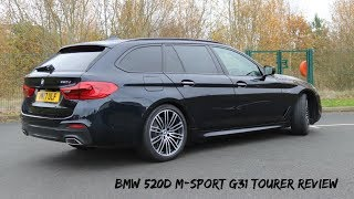 Download BMW 520d M Sport G31 2017 Touring Review Video