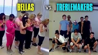Download Bellas & Treblemakers Rehearsal Footage from Pitch Perfect [Full] Video