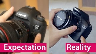 Download Expectation vs Reality: Buying Your First DSLR Video