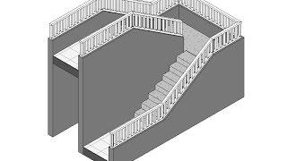 Download Revit Arquitectura: Baranda inclinada en elemento no anfitrión Video