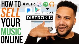 Download How To Sell Your Music On Spotify, Apple Music, Tidal (DistroKid Tutorial) Video