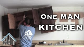 Download Install Replace kitchen cabinets, By Yourself! Easy. Home Mender Video