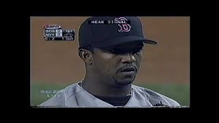 Download Boston Red Sox at New York Yankees 2000 05 28 Pedro Martinez vs Roger Clemens PART 1 Video