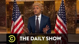 Download President-Elect Trump Takes On the Crooked Media: The Daily Show Video